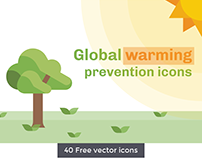Free Global Warming Icon Set