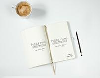 Notebook PSD Mockup free