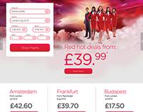 Virgin Europe - Website Concept