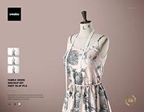 Fabric Dress Mockup Set (78/FFv.6)