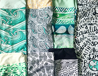 Leggings by Pom Graphic Design