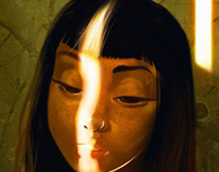 Doodle Light Girl