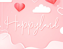 Happyland | Romantic Font