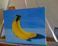 Beginner Oil Paintings of Fruit by Bricole Reincke