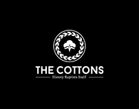 ''The Cottons - History Reprints Itself'' T-shirt print