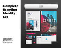 Branding/Identy Set Mockups