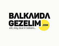 Balkandagezelim.com Logo Design
