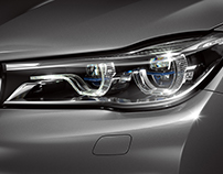BMW 7 head light