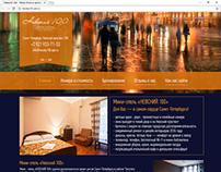 """Сайт и логотип для отеля """"Невский 100"""""""
