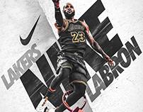 "Nike Poster (Spoof) II   ""LABRON"""