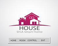samrt home control panel