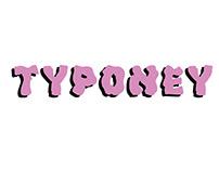 TYPONEY — Font