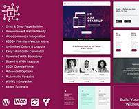 T WordPress Theme - Tech Website Templates