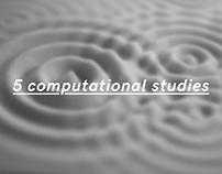 5 computational studies