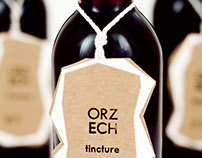 Hazelnut tincture label
