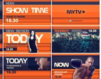MyTV Branding & Promo Package