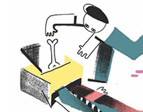 Junior Thesis - Editorial illustration and design