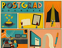 "The Guardian - ""Postgrad"" section cover"