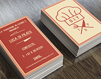 Luca Di Pilato_Logo + Business Card design
