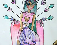 Fashion Illustration - Miss Dreamer