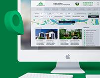 Дизайн сайта для агентства МИР НЕДВИЖИМОСТИ