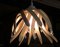 Plywood Lampshade