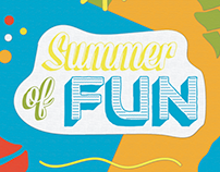 Summer of Fun Poster