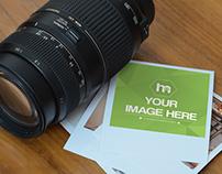 Polaroid Photo Frame Mockup