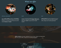 Sheesha Store - Homepage