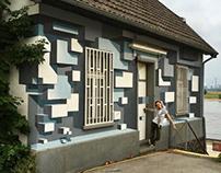 3d mural / Krefeld