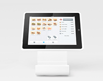 Square Stand + Reader