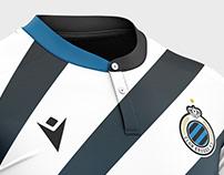 Club Brugge football kit.