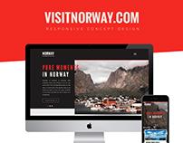 visitnorway.com // Responsive Concept Design
