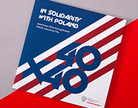 40x40: In Solidarity with Poland