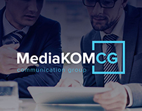 Site «MediaKOM CG». Advertising agency
