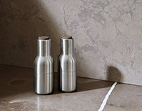 Bottle Grinders by Norm Architects for Menu