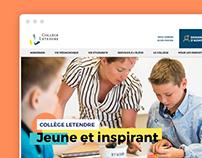 Collège Letendre  |  Web