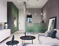 Krakow apartment 42,4 sq.m