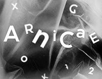 ARNICAE – typeface