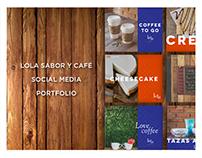 LOLA SABOR Y CAFÉ - Social Media Portfolio