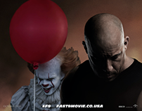 FAST & FURIOUS 9 feat. PENNYWISE POSTER