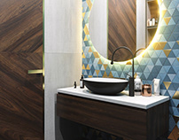 Visualization of a bathroom 11