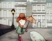 """My Puddle Buddy"" - Illustration"