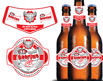 Beer Label designs for a European company in Albania