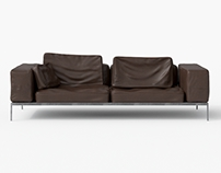 Leather Sofa CL04