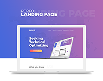 Perfo - Landing Page