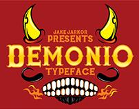 DEMONIO - TYPEFACE