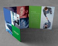 Metro Brochure Tri-Fold Square