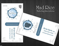 Mad Rice - Business Card Design