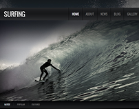 Surfing Joomla Template